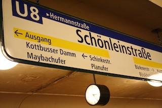 Schönleinstrasse / Türkenmarkt
