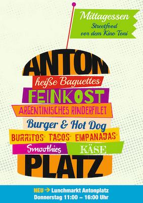 Streetfood Markt am Antonplatz