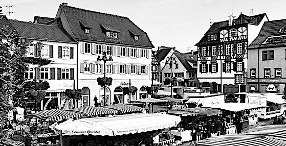 Markt in Lahr