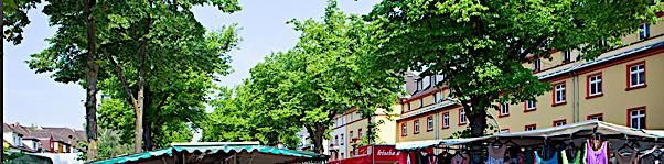 Wochenmarkt in Köln: Klettenberggürtel