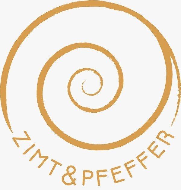 Logo des Gewürzhandels Zimt und Pfeffer in Berlin.
